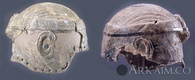 10123386  «Каменный шлем» неизвестного шумерского правителя (лугаля). Британский музей