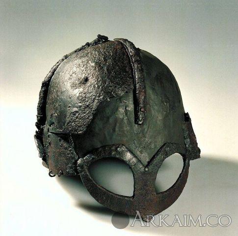 1484201274 9. hjelm Av jern Fra vikingtid Fra gjermundbu