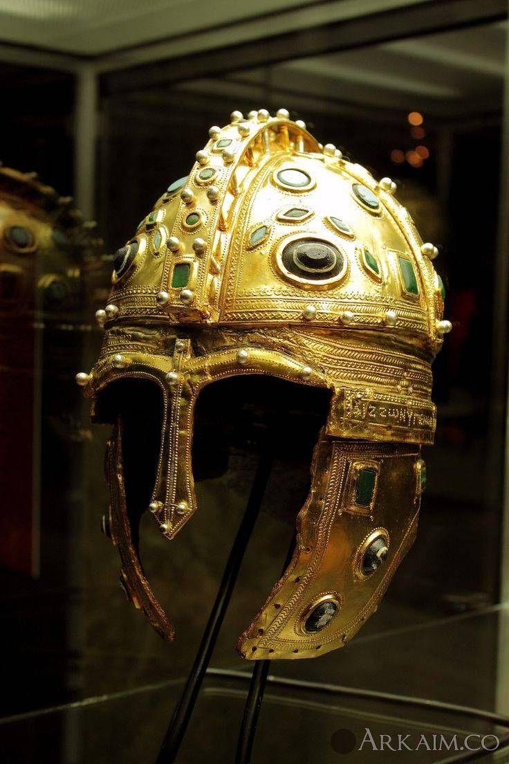 1498071877 4. roman golden helmet found near sirmium present Day serbia
