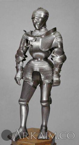 1498674972 8. armor from nuremberg 1525 1530. owned By duke ulrich Son Of heinrich Of wurttemberg 1487 1550. Khm vienna