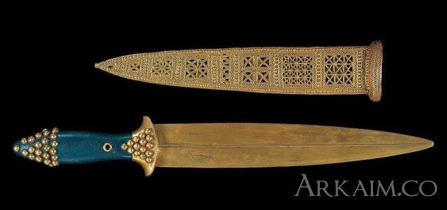 10123403 Кинжал из «Царских гробниц» из города Ур. Коллекция Национального музея Ирака, Багдад