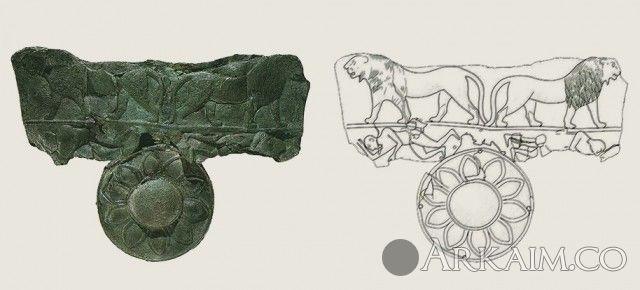 10123358 Предположительно деталь щита из гробницы правителя Мескаламдуга из города Ур. Британский музей, Лондон