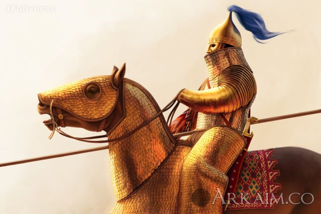 joan francesc oliveras pallerols persian cataphract