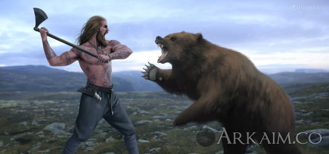 joan francesc oliveras pallerols viking Vs bear