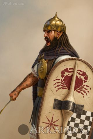 joan francesc oliveras pallerols illyrian warrior