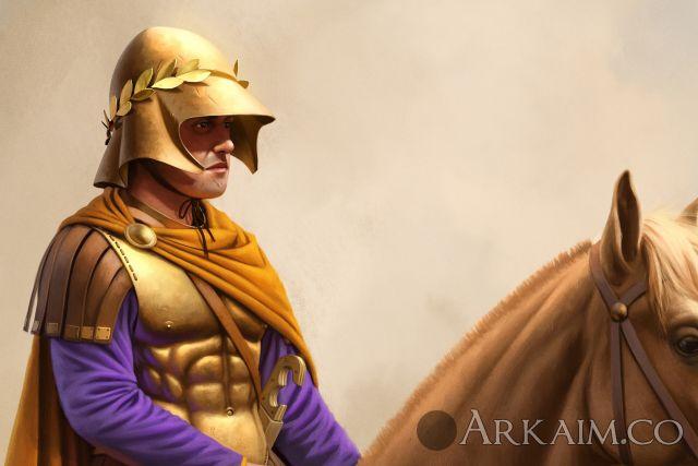 joan francesc oliveras pallerols companion cavalryman close Up