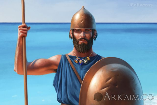 joan francesc oliveras pallerols phoenician infantryman