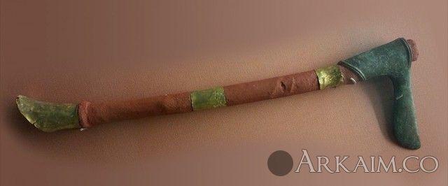 10123254 Боевой топор правителя города Ур Мескаламдуга. Британский музей, Лондон