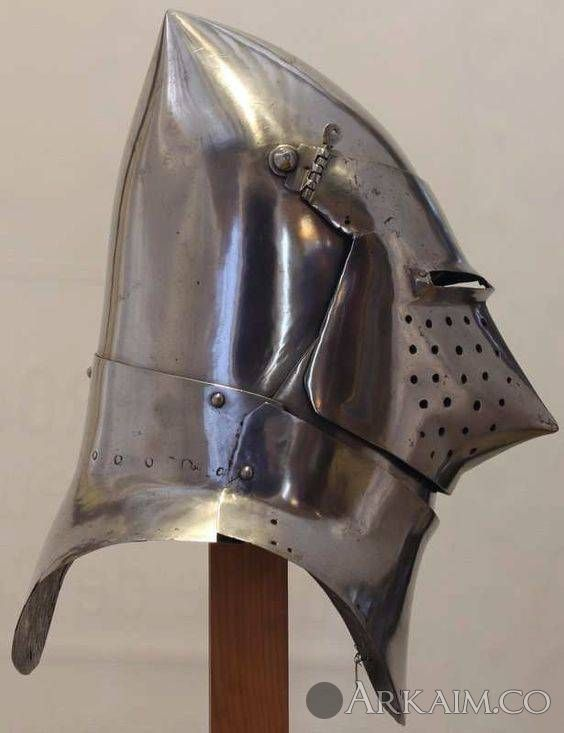1467870240 18. great bascinet musee De armee paris 1400 1420