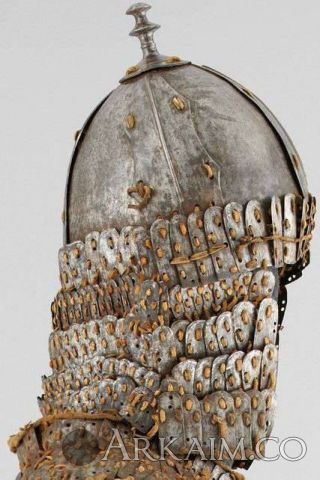 1455342255 3a.tibetan helmet16th17th C. The distinctive tibet Or The tibetan