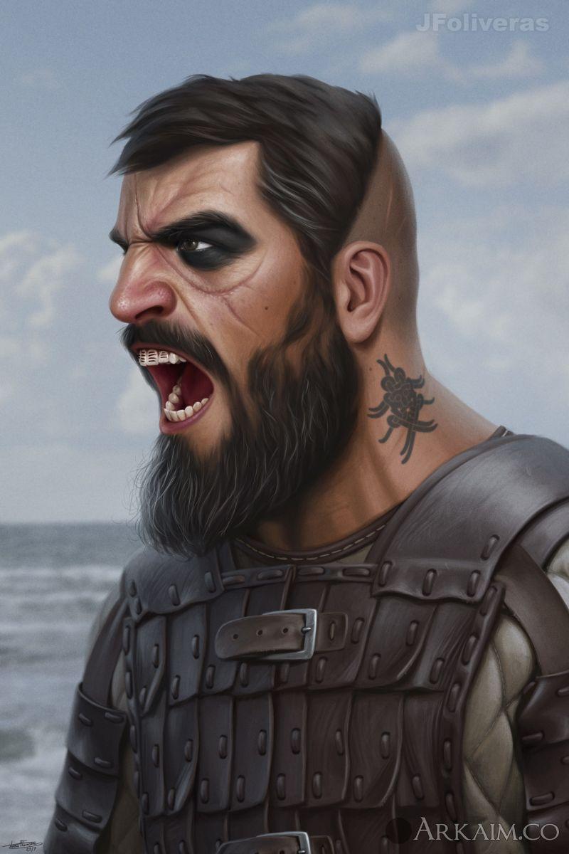 joan francesc oliveras pallerols dane warrior