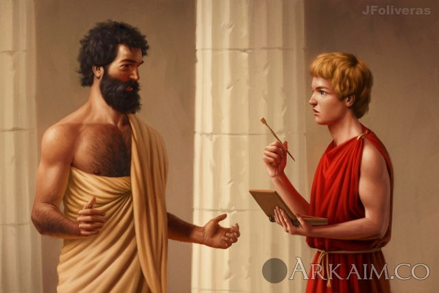joan francesc oliveras pallerols aristotle teaching alexander