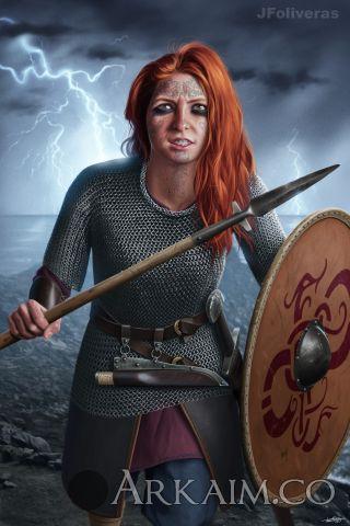 joan francesc oliveras pallerols rusla The Red maiden