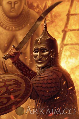 joan francesc oliveras pallerols cuman warrior